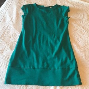New York and Company teal/turquoise dress
